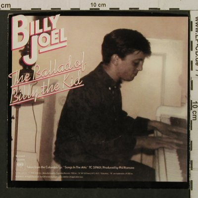 Joel,Billy: She's Got A Way/BalladOfBillyTheKid, Columbia/Promo Stol(18-02628), US, vg+/m-, 1981 - 7inch - T2196 - 2,00 Euro