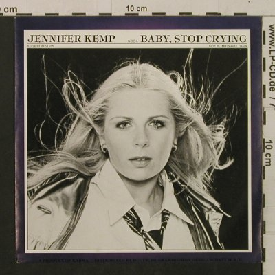 Kemp,Jennifer: Baby Stop Crying/Midnight Train, Karma(2023 105), D, 1978 - 7inch - T2218 - 2,50 Euro