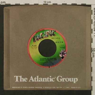 O'Day,Alan: Started Out Dancing / Angie Baby, Pacific(PC 002), US, FLC, 1977 - 7inch - T2245 - 2,00 Euro