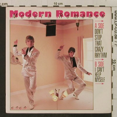Modern Romance: Don't Stop that Crazy Rhythm, WEA(ROM 3), UK, 1983 - 7inch - T2264 - 1,50 Euro