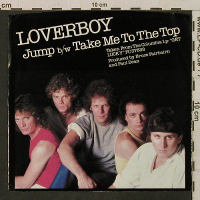 Loverboy: Jump / Take Me To The Top, Columbia(38-03346), US, 1981 - 7inch - T2271 - 1,50 Euro