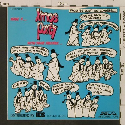 Snowmen: Xmas Party / Dance Of The Snowmen, Solid(STOP 006), UK, 1982 - 7inch - T2281 - 3,00 Euro