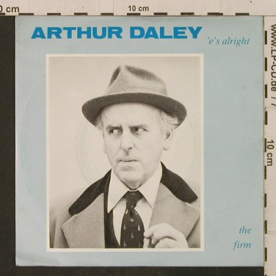 Firm,The: ArthurDaley('e'sAlright)/PoshVersio, Bark(hid-1), UK, 1982 - 7inch - T2283 - 2,00 Euro