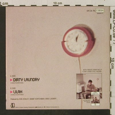 Henley,Don: Dirty Laundry / Lilah, Asylum(E 9894), UK, 1982 - 7inch - T2286 - 2,50 Euro