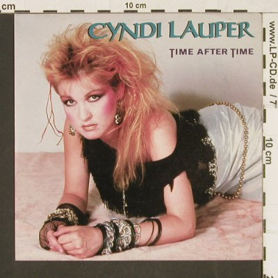 Lauper,Cyndi: Time After Time / I'll Kiss You, Portrait(A 4290), NL, 1984 - 7inch - T231 - 2,50 Euro