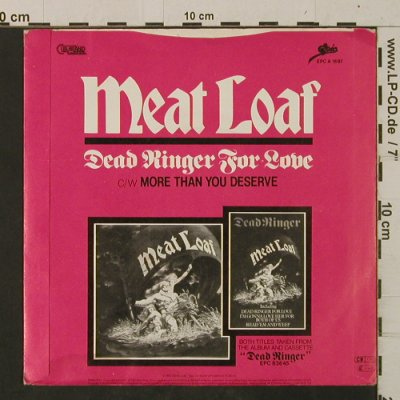 Meat Loaf: Dead Ringer For Love/MoreThanYou..., Epic(EPC A 1697), UK,m-/vg+, 1981 - 7inch - T2473 - 2,50 Euro