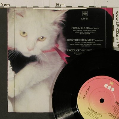 Ant,Adam: Puss 'n Boots / Kiss The Drummer, CBS(A3614), UK, 1983 - 7inch - T2495 - 3,00 Euro