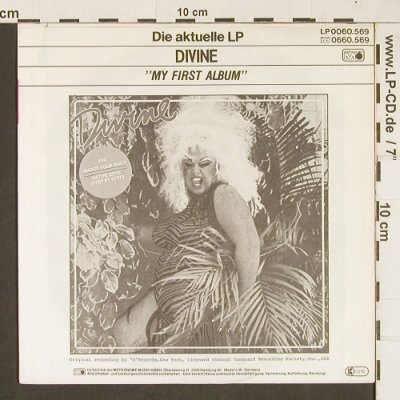 Divine: Shoot Your Shot / Inst., Metronome(0030.615), D, 1982 - 7inch - T253 - 2,50 Euro