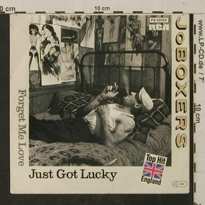 Joboxers: Just Got Lucky /Forget Me Love, RCA(PB 68069), D, 1983 - 7inch - T2709 - 2,00 Euro