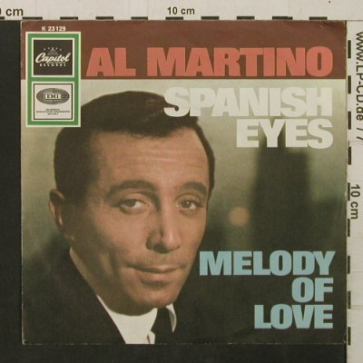Martino,Al: Spanish Eyes / Melody Of Love, Capitol(K 23129), D,  - 7inch - T2822 - 2,00 Euro