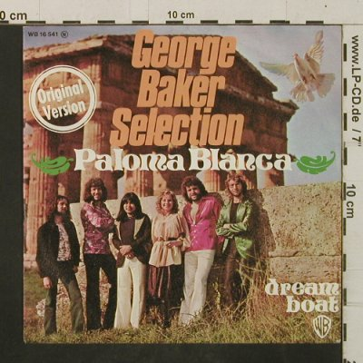 Baker Selection,George: Paloma Blanca / Dream Boat, WB(WB 16 541), D, 1975 - 7inch - T2952 - 2,50 Euro