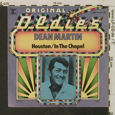 Martin,Dean: Houston / In The Chapel, Reprise(14 491), D, 1976 - 7inch - T3001 - 2,00 Euro
