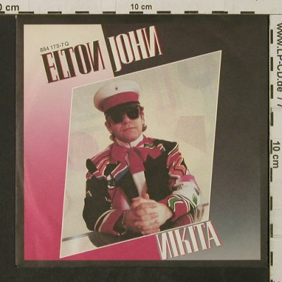 John,Elton: Nikita / The Man Who Never Died, Phonogram(884 173-7), D, 1985 - 7inch - T3123 - 2,00 Euro