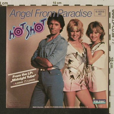Hot Shot: Angel From Paradise / Friday, Teldec(6.13313), D, 1981 - 7inch - T3163 - 2,50 Euro