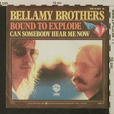 Bellamy Brothers: Bound To Explore, Muster, vg+/m-, WB(16 963), D, 1977 - 7inch - T3164 - 2,00 Euro