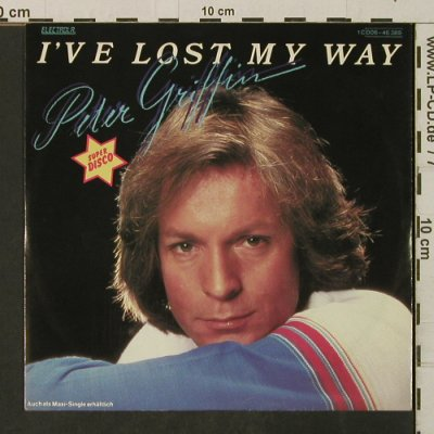 Griffin,Peter: I've Lost My Way / Beware Of Love, Electrola(006-46 389), D, 1981 - 7inch - T3180 - 1,50 Euro