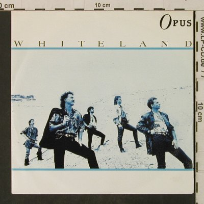 Opus: Whiteland / Walking Along With You, Polydor(887 054-7), D, 1987 - 7inch - T3187 - 2,00 Euro