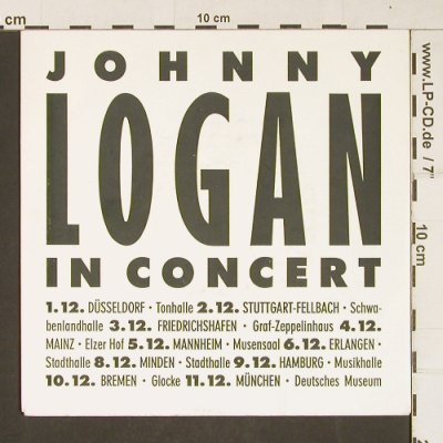 Logan,Johnny: Stay / When your woman cries,Promo, Epic(PRO 423), NL, 1987 - 7inch - T321 - 2,00 Euro