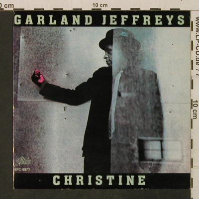 Jeffreys,Garland: Christine / Escape Goat Dub, Epic(9577), NL, 1981 - 7inch - T3352 - 2,00 Euro