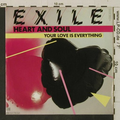 Exile: Heart And Soul/Your Love Is Everyth, RAK(008-64 511), D, 1981 - 7inch - T3464 - 2,50 Euro