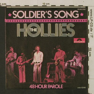 Hollies: Soldier's Song / 48 Hour Parole, Polydor(2040 280), D, 1976 - 7inch - T3517 - 2,50 Euro