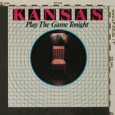 Kansas: Play The Game Tonight / Play On, Kirshner(KIRA-2408), D, 1982 - 7inch - T3559 - 2,00 Euro