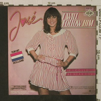 Jose: I Will Follow Him/If I Could Be Nea, CNR(0030.563), D, 1982 - 7inch - T3590 - 2,00 Euro