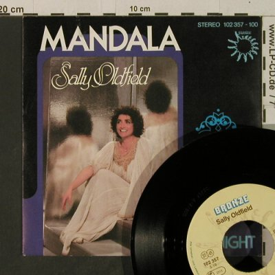 Oldfield,Sally: Mandala/Woman Of The Night, Bronze(102 357-100), D, 1980 - 7inch - T3615 - 2,50 Euro