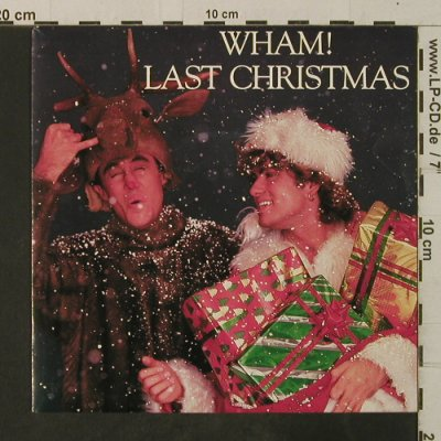 Wham: Last Christmas / Everything She Wan, Epic(A 4949), NL, 1984 - 7inch - T3642 - 3,00 Euro