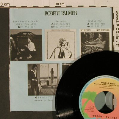 Palmer,Robert: What's It Take / Jealous, Island(101 037-100), D, 1979 - 7inch - T3719 - 3,00 Euro
