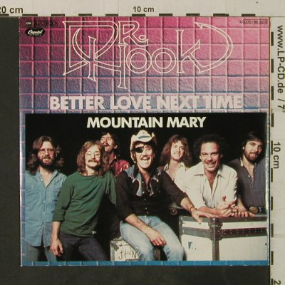 Dr.Hook: Better Love Next Time/Mountain Mary, Electrola(006-86 023), D, 1979 - 7inch - T3734 - 2,50 Euro