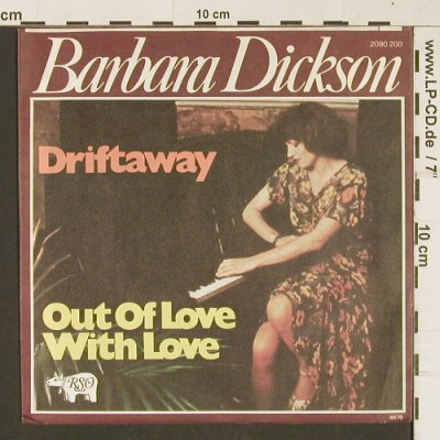 Dickson,Barbara: Out Of Love With Love, RSO(2090 200), D, 1976 - 7inch - T380 - 3,00 Euro