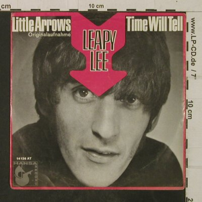 Leapy Lee: Little Arrows/Time will Tell, Hansa(14 126 AT), D, vg+/vg+,  - 7inch - T3919 - 4,00 Euro