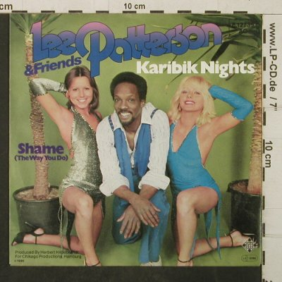 Patterson,Lee & Friends: Karibik Nights, Telefunken(6.12739 AC), D, 1980 - 7inch - T3939 - 3,00 Euro