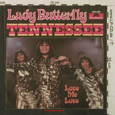 Lady Butterfly: Tennessee, m-/vg+, Polydor(2042 085), D, 1979 - 7inch - T3940 - 2,50 Euro