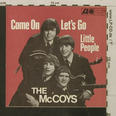 McCoys: Come On / Let's go Little People, Atlantic,OnlyCover(ATL 70 168), D,  - Cover - T3976 - 4,00 Euro