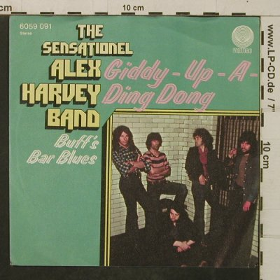 Harvey Band,Alex: Giddy-Up-A-Ding Dong, Vertigo(6059 091), D,  - 7inch - T4063 - 4,00 Euro
