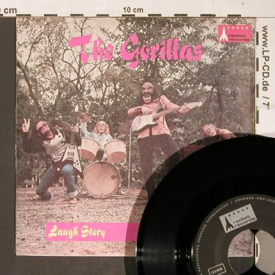 Gorillas: Laugh Story / What a Day (Rattles), Rocket Records(RRD 12 003), D, m-/vg+,  - 7inch - T4289 - 25,00 Euro