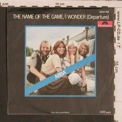 Abba: The Name of the Game, Polydor(2001 742), D, 1977 - 7inch - T4498 - 4,00 Euro
