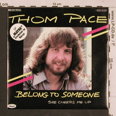Pace,Thom: Belong to Someone, Capitol(006-86 090), D, 1980 - 7inch - T4558 - 2,50 Euro