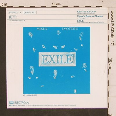 Exile: Kiss You All Over, RAK(006-61351), D, 1978 - 7inch - T4576 - 2,50 Euro