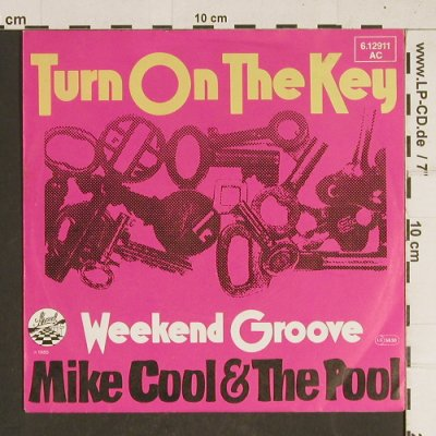 Mike Cool & The Pool: Turn on the Key, Strand(6.12911 AC), D, 1980 - 7inch - T457 - 2,50 Euro