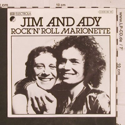 Jim and Ady: Rock'n'Roll Marionette, EMI(C006-06 141), D, 1976 - 7inch - T4639 - 3,00 Euro