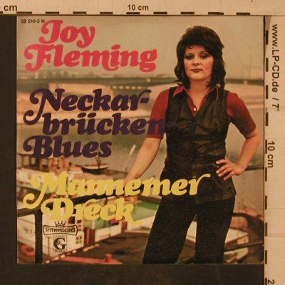 Fleming,Joy: Neckar-Brücken-Blues, Intercord(22 518-5 N), D, 1972 - 7inch - T4712 - 4,00 Euro