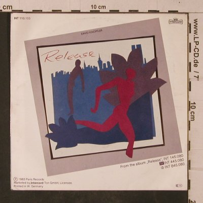 Knopfler,David: Madonna's Daughter, Intercord(INT 110.153), D, 1983 - 7inch - T4754 - 3,00 Euro