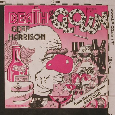 Harrison,Geff: Death of a Clown, Nova(6.11862 AC), D, 1976 - 7inch - T4809 - 4,00 Euro