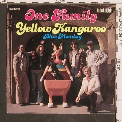 One Family: Yellow Kangaroo, Bellaphon(BA 20066), D, 1977 - 7inch - T4882 - 2,50 Euro