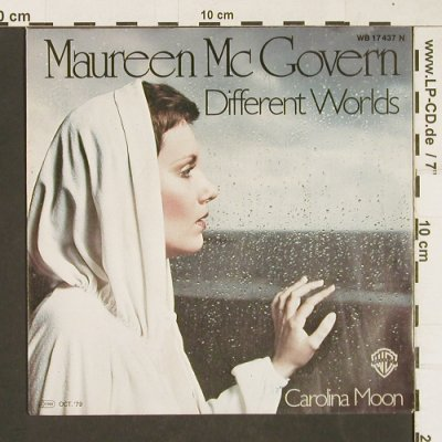 Mc Govern,Maureen: Different Worlds, WB(17 437), D, 1979 - 7inch - T65 - 2,50 Euro