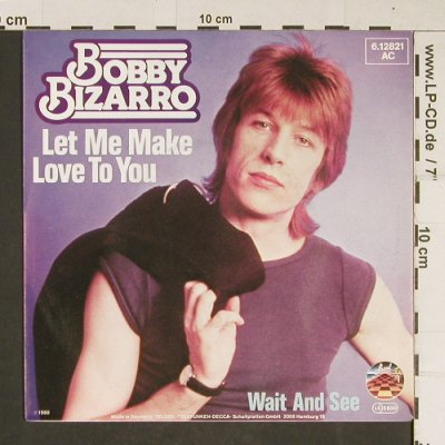 Bizarro,Bobby: Let me make Love to you, Strand(6.12821 AC), D, 1980 - 7inch - T685 - 3,00 Euro