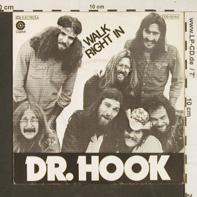 Dr.Hook: Walk Right In / Sexy Energy, Electrola(006-85144), D, 1977 - 7inch - T68 - 2,00 Euro